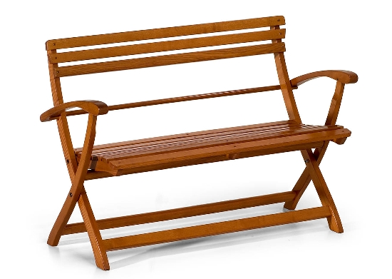 Sedie panca in legno faggio pieghevole for Panca da giardino contenitore